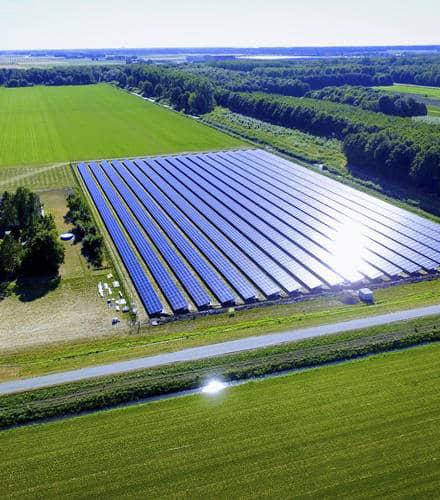 udlejning af jord til solceller